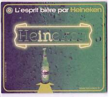 ★ HEINEKEN ★  Esprit Bière #5 Sous bock coaster deckel