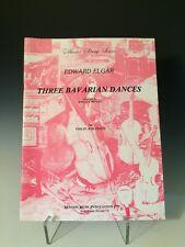 Master String Edward Elgar Three Bavarian Dances for Violin and Piano Sheet Musi