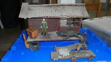 VHTF ZARTAN's DREADNOK SWAMP CABIN/HIDEOUT CUSTOM DIORAMA 1:18th G.I. JOE COBRA