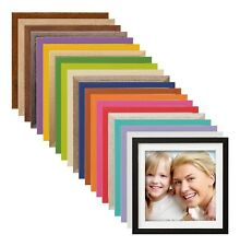 L15 Bilderrahmen quadratisch Weiß Passepartout 15x15 20x20 30x30 40x40 50x50
