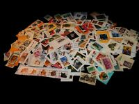 Vintage Stamp,LOT OF 500 OLDER UNITED STATES ON PAPER, Commemorative, Flags, #2