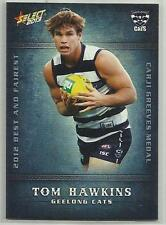 2013 AFL SELECT CHAMPIONS BF7 Tom Hawkins Geelong Best and Fairest CARD