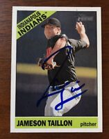 JAMESON TAILLON 2015 TOPPS HERITAGE AUTOGRAPHED SIGNED AUTO BASEBALL CARD 86