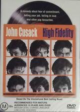 High Fidelity (Dvd, 2002) John Cusack Brand New & Sealed