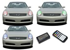 for Infiniti G35 05-06 RGB Multi Color M7 LED Halo kit for Headlights