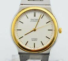 H921 Vintage Citizen Exceed Quartz Analog Watch 5639-F60978Y Original JDM 2.2