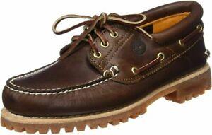 Timberland Men's Icon Three-Eye Classic Shoe  7, Burgundy/Brown