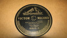 BILLY MURRAY VICTOR 78 RPM RECORD 16842 WHEN MARIOLA DO THE CUBANOLA