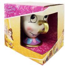 Chip Cup Mug Beauty and the Beast Disney Princess Belle China Girls Keepsake Box