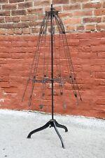 Antique Victorian Adjustable Skirt Dress Form Mannequin Cast Iron Base 1881 Rare