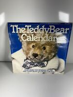 Vintage 1983 The Teddy Bear Calendar ~ Bialosky & Friends