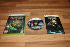 XBox 360 Bioshock 2 DVD Instructions Video Game Live 2KGames Gore Big Daddy 18+