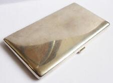 Étui à cigarettes ARGENT massif Art Deco Zimmerman 1938 silver cigaret box 230 g