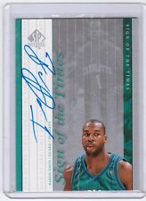 99-00 Upper Deck SP Authentic SOTT Baron Davis Auto Autograph