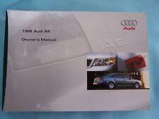 buy car manuals literature for 1998 audi a6 ebay rh ebay co uk 1998 audi a6 owners manual 1998 audi a6 service manual