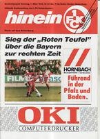 BL 91/92 1. FC Kaiserslautern - FC Bayern München, 07.03.1992