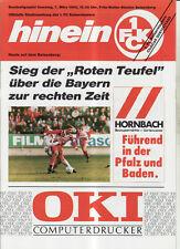 BL 91/92 1. FC Kaiserslautern - FC Bayern München