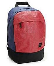 RVCA Boris School/Travel Backpack Red/Navy NWT NEW
