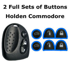 2 Sets Key Buttons Remote Remote Repair Holden Commodore VS VT VX VY VZ WH WK WL