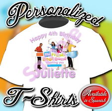 NEW CUSTOM PERSONALIZED FRESH BEAT BAND BIRTHDAY T SHIRT PARTY FAVOR ADD NAME