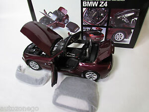 MEGA RARE  BMW Z4 E85  ROADSTER 1/18 KYOSHO WITH SOFT TOP  WITH TRACKING #