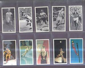 BROOKE BOND SET: OLYMPIC CHALLENGE 1992    - Jesse Owens Mohammed Ali etc