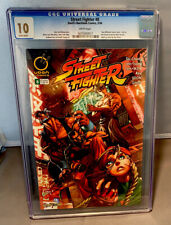 STREET FIGHTER # 8 - CGC 10.0 - WHITE PAGES - UDON COMICS 5/2004