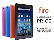 Amazon Kindle Fire 7 Inch 8GB Wi-Fi Tablet 5th Gen new 2016 blue model free del