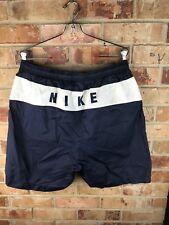 """NIKE 90's Nylon Sport Shorts   """"NIKE"""" spellout on back Men's XL"""