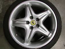 "Ferrari F355, 18"" Front Wheel, Rim Grey, Used, P/N 166475"