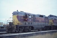 ALGOMA CENTRAL Railroad Locomotive 170 Original 1985 Photo Slide