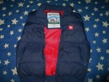 Abercrombie & Fitch  Men Down Quilted Puffer Sky Vest L