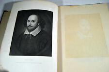 Antique Shakespeare 15 Large Engravings Book Ophelia Hamlet William VIII