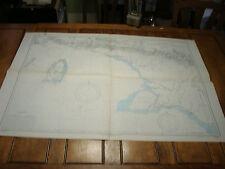 Vintage WW II Era Nautical Chart Map: MERAUKE to KAAP VAN DER BOSCH new guinea