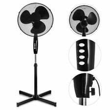 Cooling Fan Pedestal Oscillating Stand Electric Tower Standing Fans New 16INCH