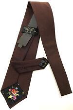 Paul Smith Damson Cravate COLLECTION BRITANNIQUE 9cm fabriquée en Angleterre