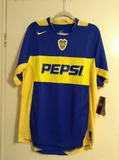 Boca Juniors Nike Authentic Vintage Soccer Jersey Adult Sizes.
