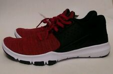 NIKE NIKEFLEX Mens Sneakers Shoes Size 11 RED Black Running Male Light NEW