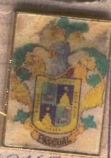 Araldica SCRITTA metallica Dell' cognome : PASCUAL