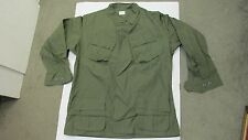 US Vietnam Era Jungle Jacket Shirt Ripstop Poplin 1969 Large Long OG 107 NOS