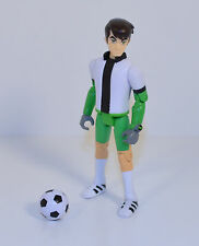 "RARE BOX SET 2011 Soccer Ben Tennyson 4"" Action Figure Ben 10 Ultimate Alien"