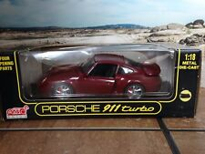 Anson Porsche 911 Turbo Luxery Coupe 1:18 Scale Diecast Metal Model Car