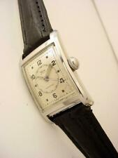 Vintage 1950s WYLER Doctor watch ALL STEEL waterproof screwed case Original Dial