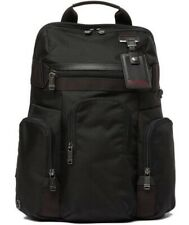 Tumi Nickerson Triple Pocket Expandable Backpack In Black NWT