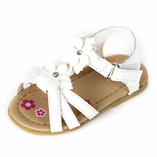 New Baby Infant Toddler Strappy Cute Floral Dress Sandals Shoes Size 3-8