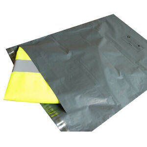 A4 Grey Mailing Bags Envelopes Grey POLYTHENE Self Seal 250 x 350mm Large Letter