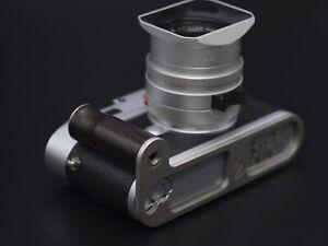 New Hand Made Dark grey Wood Steel Hand Grip Handgrip for Leica M10 M10P