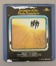 Invasion of the body snathchers - CED Videodisc HORROR MOVIE