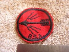 Vintage BSA Flaming Arrow Patch