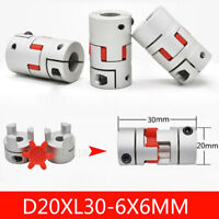 "6mm x 9.53mm Flexible Jaw Coupler CNC Shaft Spider Stepper Motor Coupling 3//8/"""